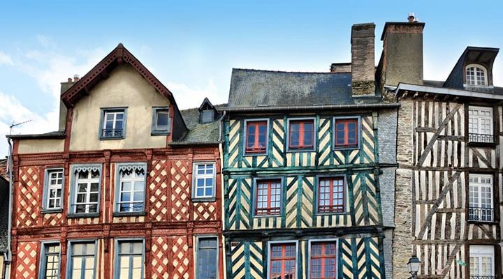 Vue du centre historique - Destination Rennes   Dynamique, étudiante et culturelle - Whoo