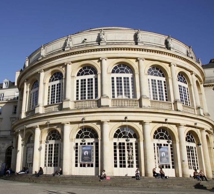 Vue de l'opéra - Destination Rennes   Dynamique, étudiante et culturelle - Whoo